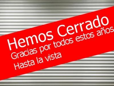 CERRADO!